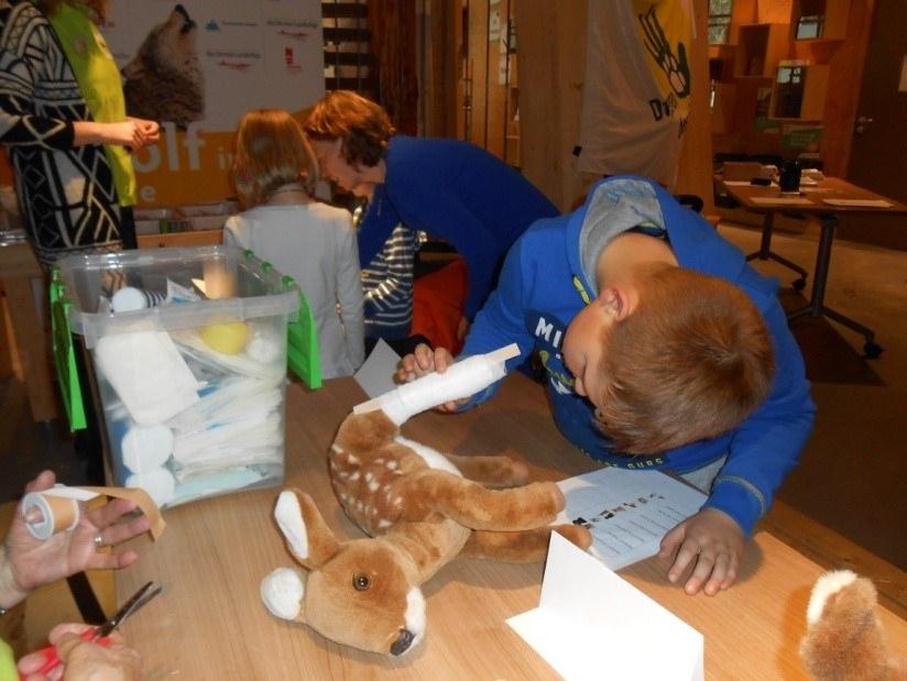 Tachtig kinderen halen diploma dierenambulance